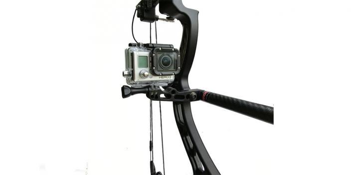 Bowfinger Archery ZX5 Bow Camera Mount Official Image - Product Photo on WAC Magazine