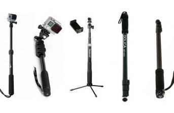 5 Best Selfie Stick Monopods For GoPro 2017