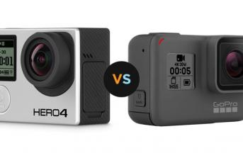 GoPro Hero 4 Black Vs. GoPro Hero 5 Black
